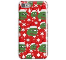 Pepe Christmas Case iPhone Case/Skin