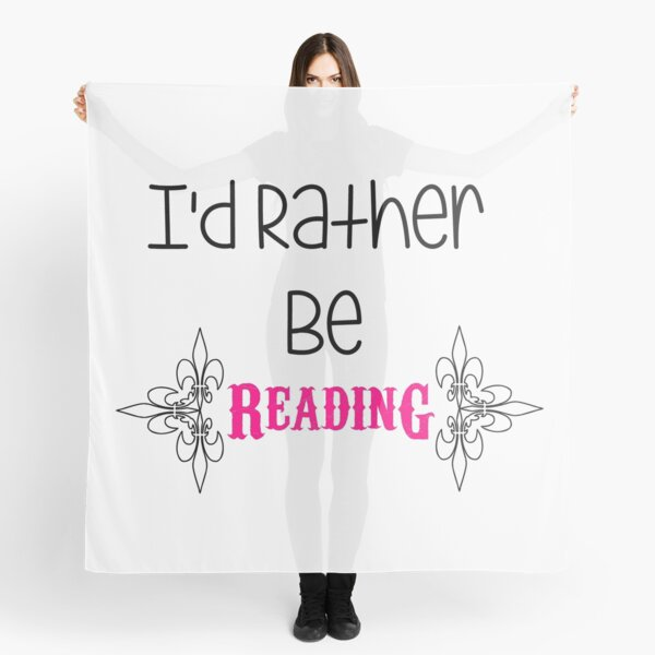 I'd Rather Be Scarf