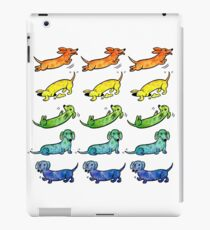 Watercolor Dachshunds iPad Case/Skin