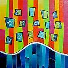 Windows in the Technicolor Sky  by Jeremy Aiyadurai