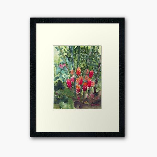 Beehive Ginger Framed Art Print