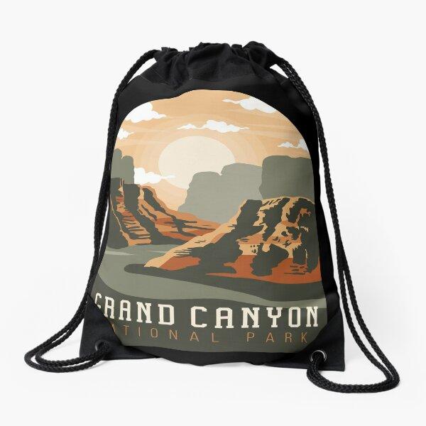 grand canyon  Drawstring Bag