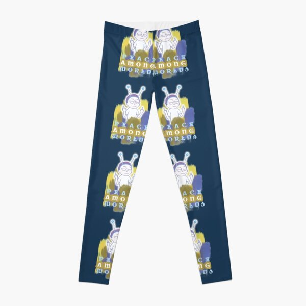 Peace Among Worlds Rick and Morty Leggings