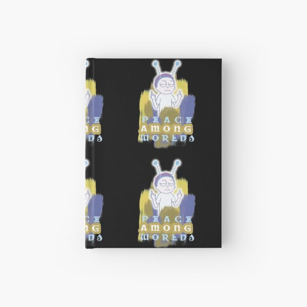 Peace Among Worlds Rick and Morty Hardcover Journal