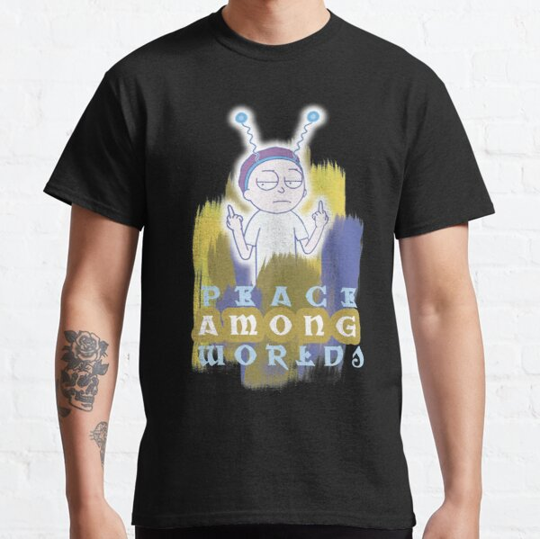 Peace Among Worlds Rick and Morty Classic T-Shirt