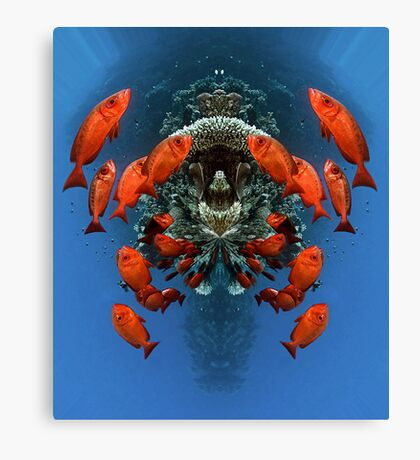 Digital Art - Underwater Canvas Print