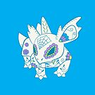 Nidorina Pokemuerto | Pokemon & Day of The Dead Mashup by abowersock