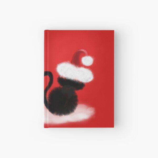 Weihnachtskatzen mit Herz Notizbuch