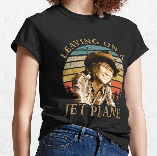 Day Gift for leaving on a John Denver Slim Fit Classic T-Shirt