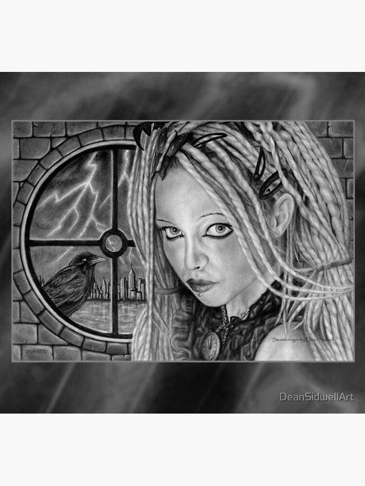 Stormbringer: Original drawing by Dean Sidwell by DeanSidwellArt