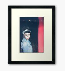 Amy-le... Again. Framed Print