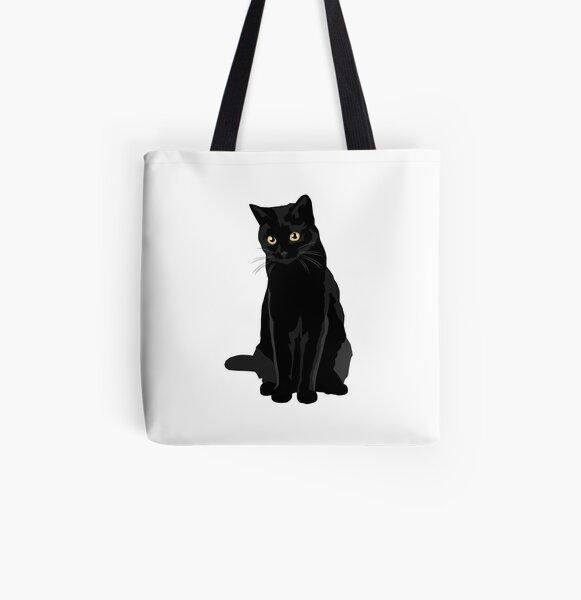 Chat noir Tote bag doublé