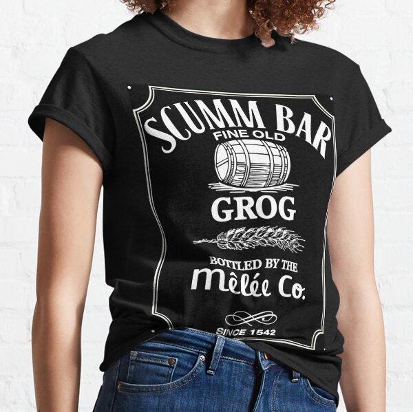 Barre de Scumm Monkey Island Grog T-shirt classique
