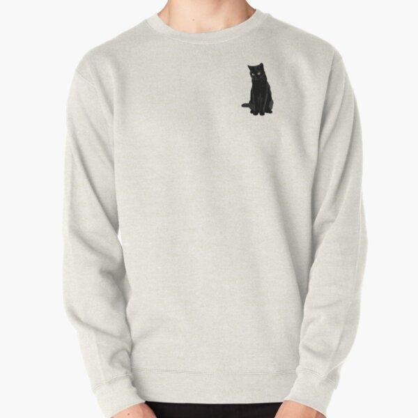 Black Cat Pullover Sweatshirt