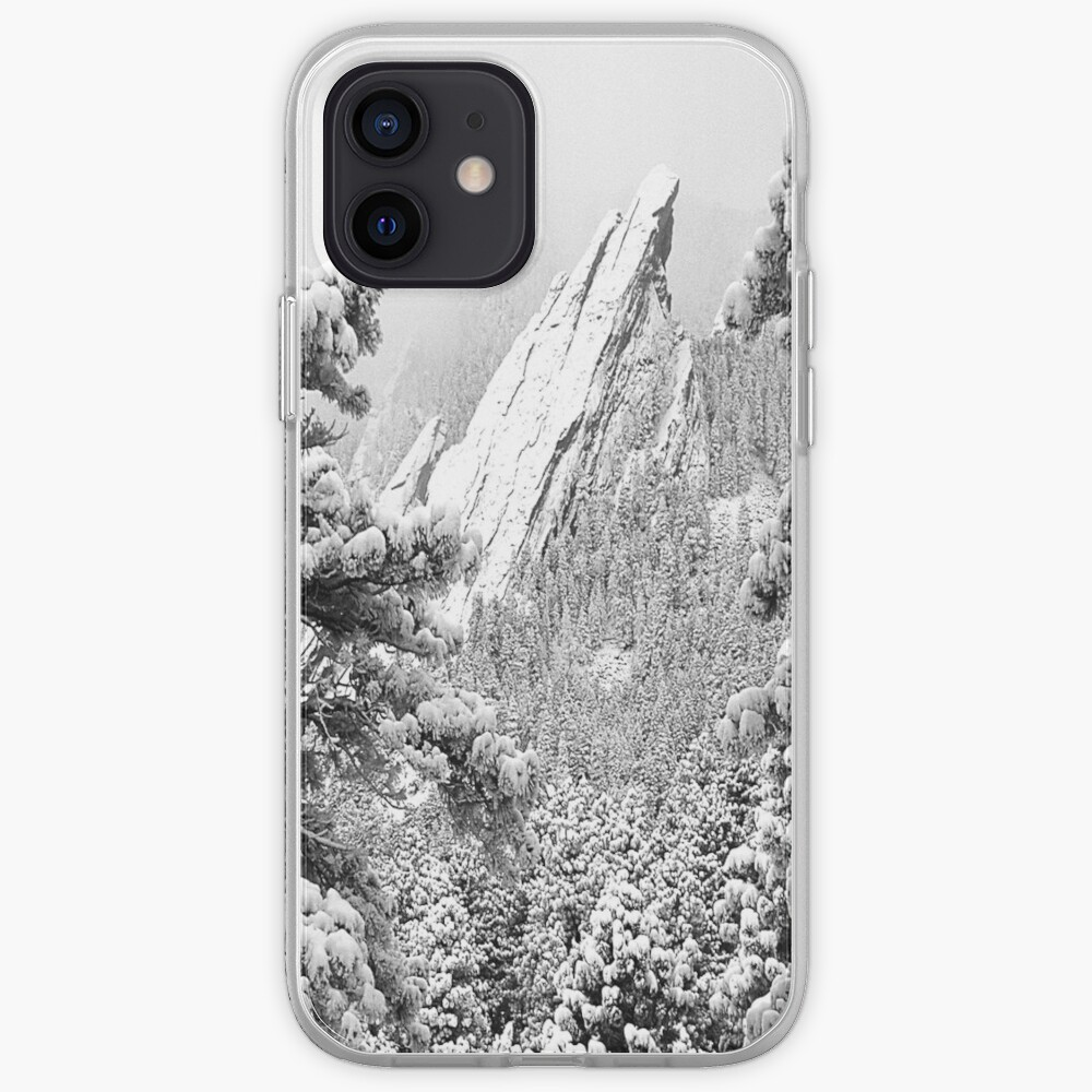 Flowers and Flatirons iPhone Case & Cover