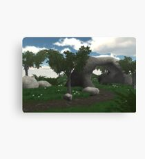 fantasy woodland Canvas Print