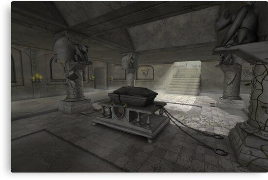 underground crypt by Elliott Butler