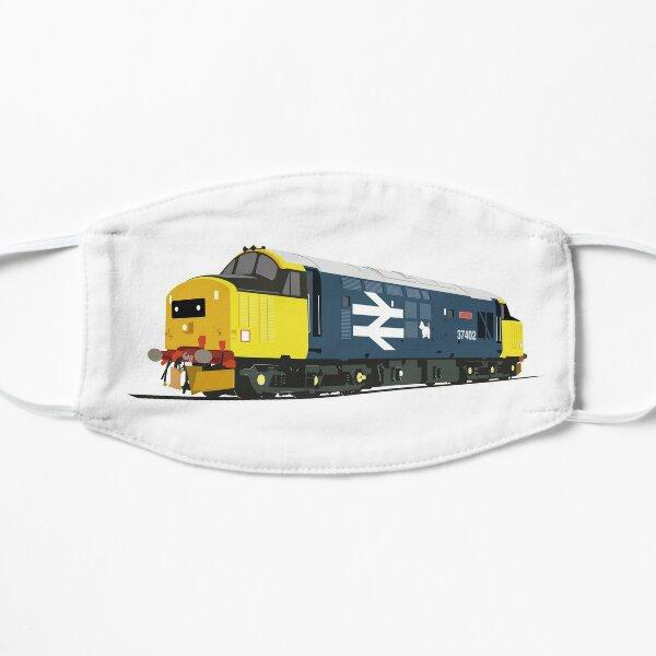 Class 37 locomotive large logo Flat Mask
