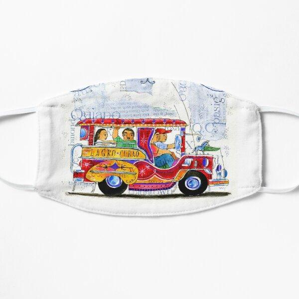 Manila jeepney ride illustration by robert alejandro Mask