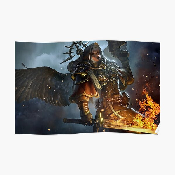 Sœurs de bataille. Warhammer 40 Poster