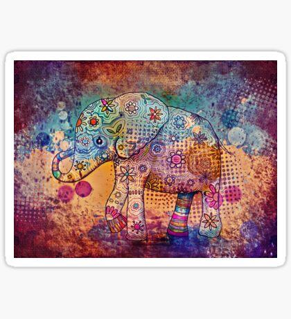 indie elephant Sticker