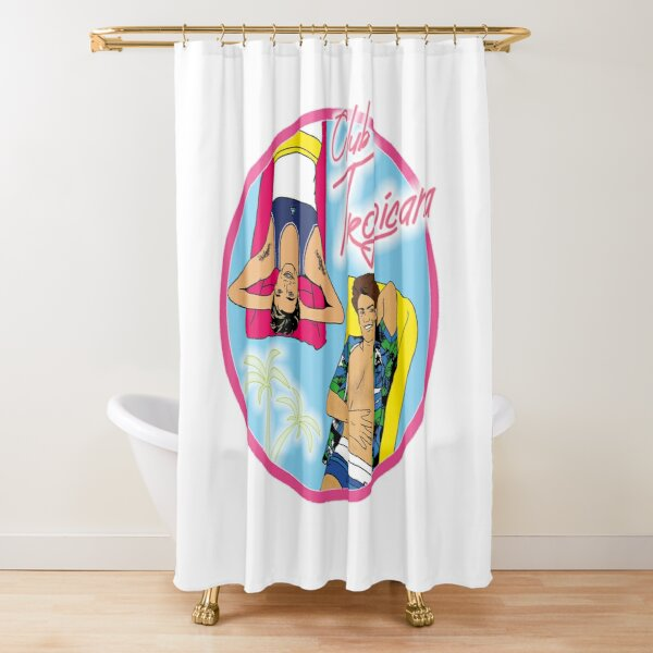 Club Tropicana Shower Curtain