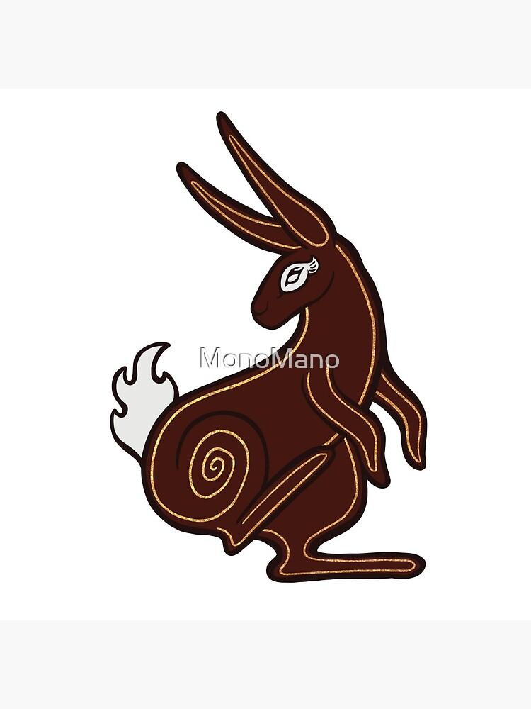 El-Ahrairah, Prince of the Rabbits - Watership Down Fan Art by MonoMano