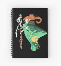 The Green Wizard Spiral Notebook