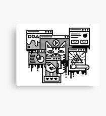 Hello Internet Canvas Print