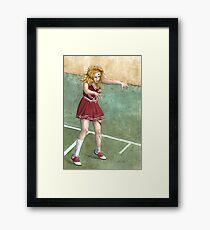 The Cheering Dead Framed Print