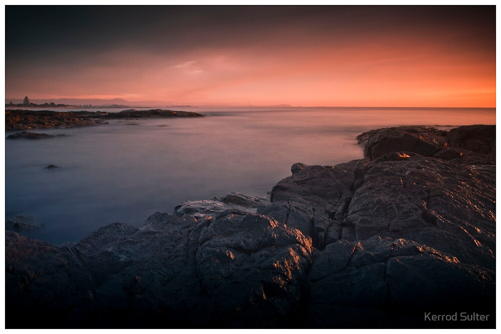 Bass Point Sunrise #4 by Kerrod Sulter
