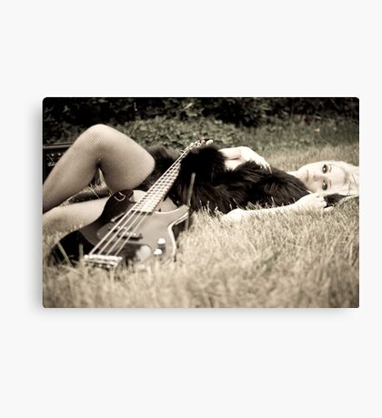 lust for music Canvas Print