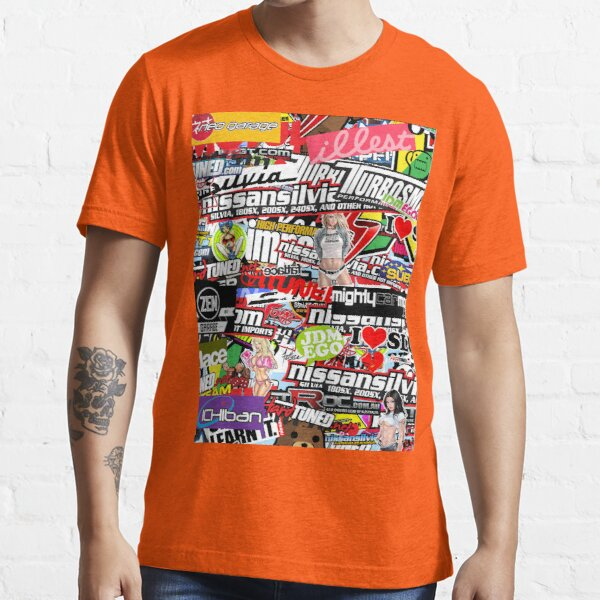 Sticker Bomb Essential T-Shirt