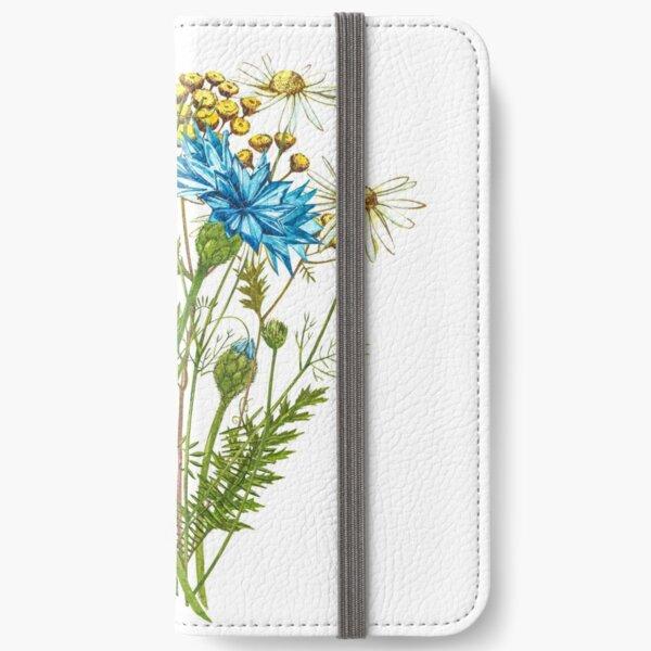 Wildflowers & Gardenflowers iPhone Wallet