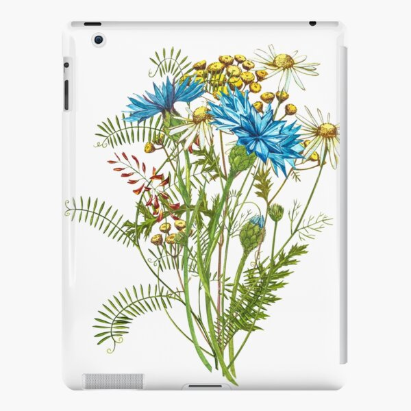 Wildflowers & Gardenflowers iPad Snap Case