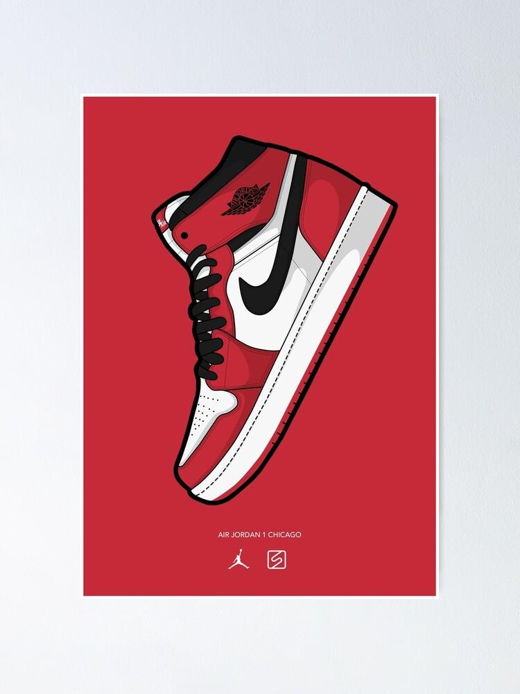 Jordan 1 Chicago Red BG