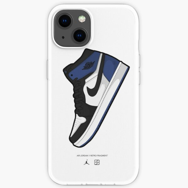 Fragmentos de Jordan 1 Funda blanda para iPhone
