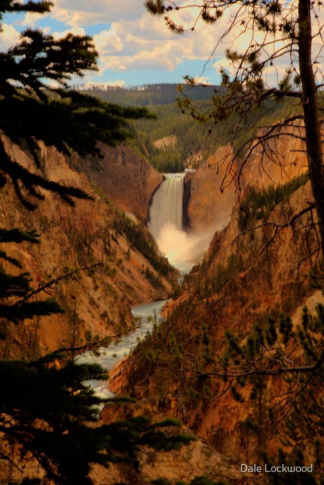 Lower Falls by Dale Lockwood
