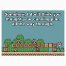 mario in trouble by cactus80