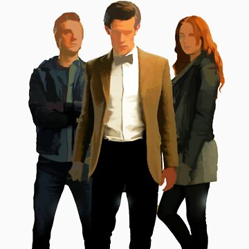 The Doctor and The Ponds by TheDoctorOfWho