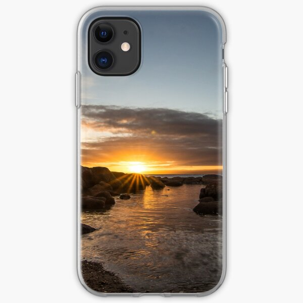 Coles Bay Sunset iPhone Soft Case