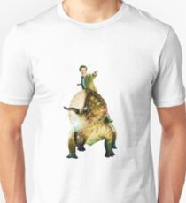 Dinosaurs On A Spaceship T-Shirt