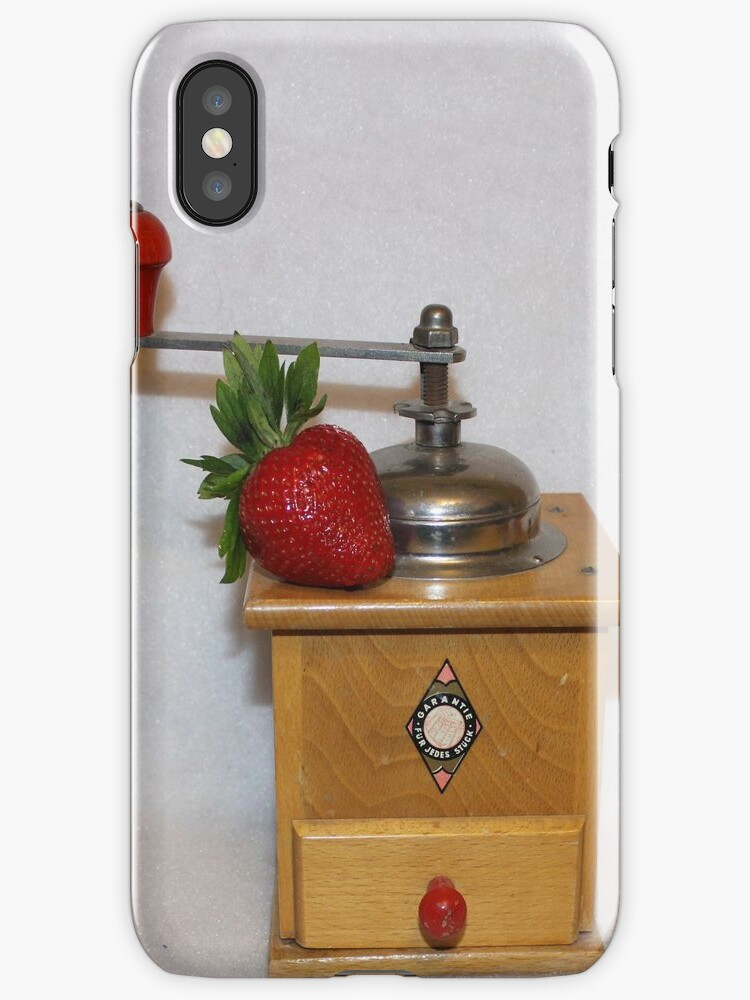 Strawberry Coffee [iPhone - iPod Case/Skin] by aprilann