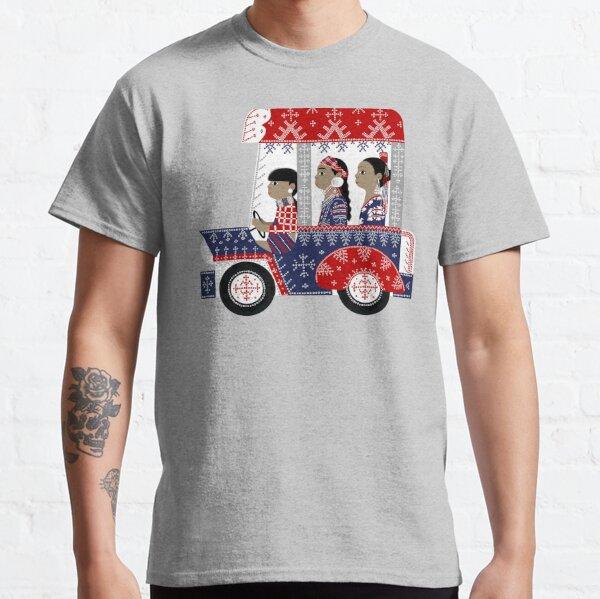 Mindanao jeepney illustration by robert alejandro Classic T-Shirt