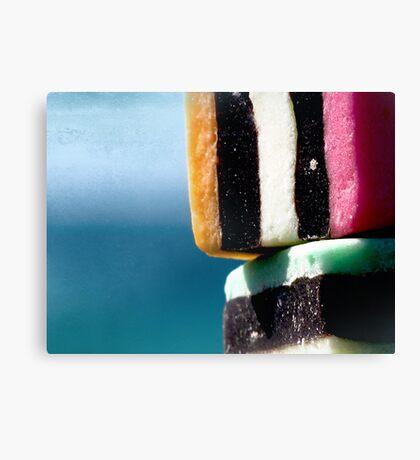 liquorice sea sculpture IV Canvas Print
