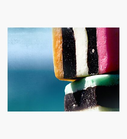 liquorice sea sculpture IV Photographic Print