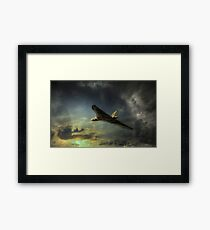 Farewell delta lady  Framed Print