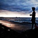 Farol Beach, Dili by Jorge de Araujo