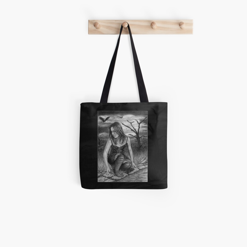 Nocturnal: Original drawing by Dean Sidwell Tote Bag