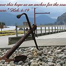 Our Anchor: Heb. 6:19 by hummingbirds